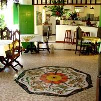 Mosaico Restaurante Santa Clara2a